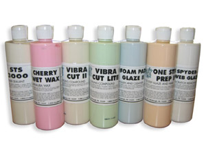 polish sample kit includes STS 3000 Polymer Paint Sealant, Cherry Wet Wax